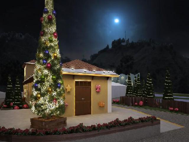 Natal dos Sonhos encanta turistas em Campos do Jordão