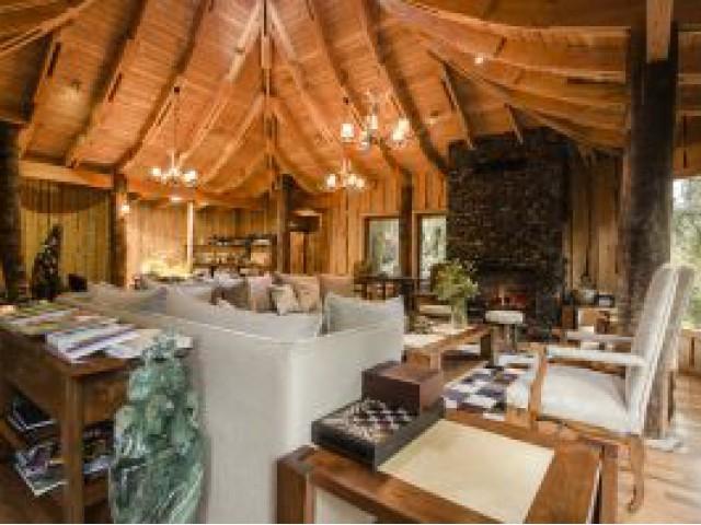 Hotel na Patagônia chilena une romantismo e luxo